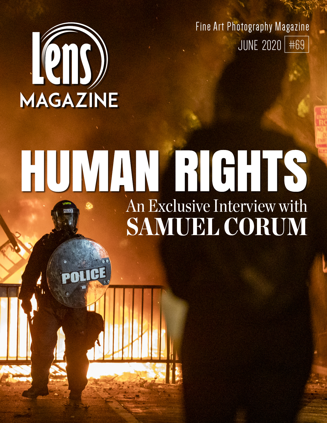 "LensMagazine ""Human Rights"""